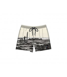 SHORT DE BAIN PULL IN GARY SURFHORIZON