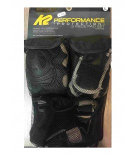 PROTECTIONS K2 TRI PACK PERFORMANCE HOMME