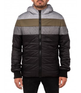 DOUDOUNE CAPUCHE PULL IN FOREST
