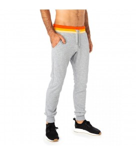 JOGGING SLIM PULL IN GREYHEATHER